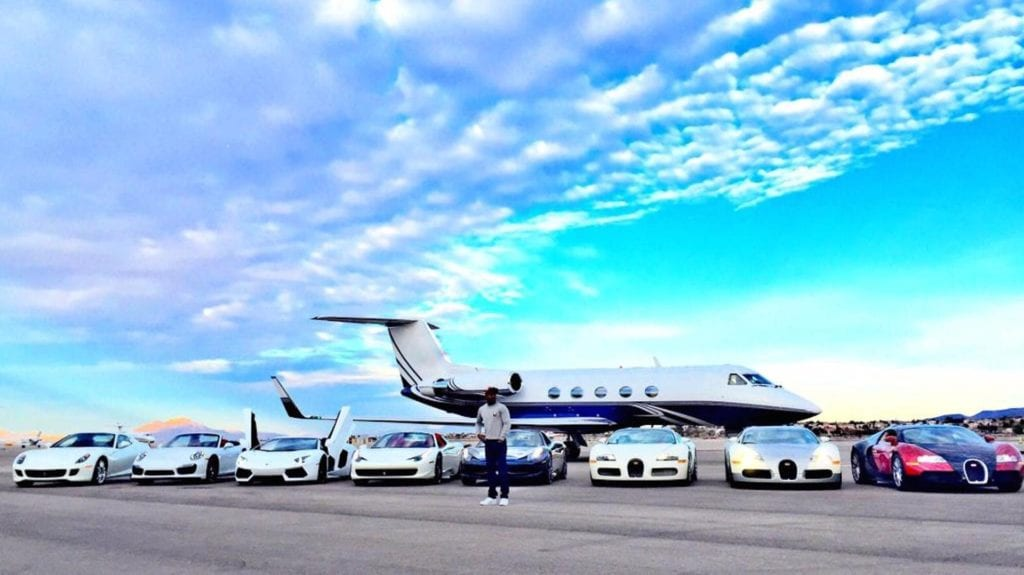 Floyd Mayweather car collection 1