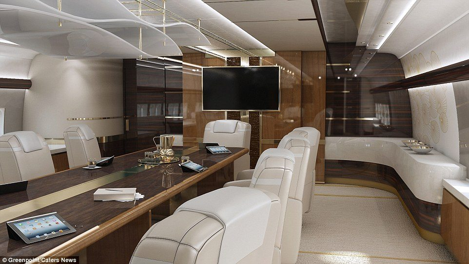 Inside Of the $607 million Private Jet (Boeing 747)