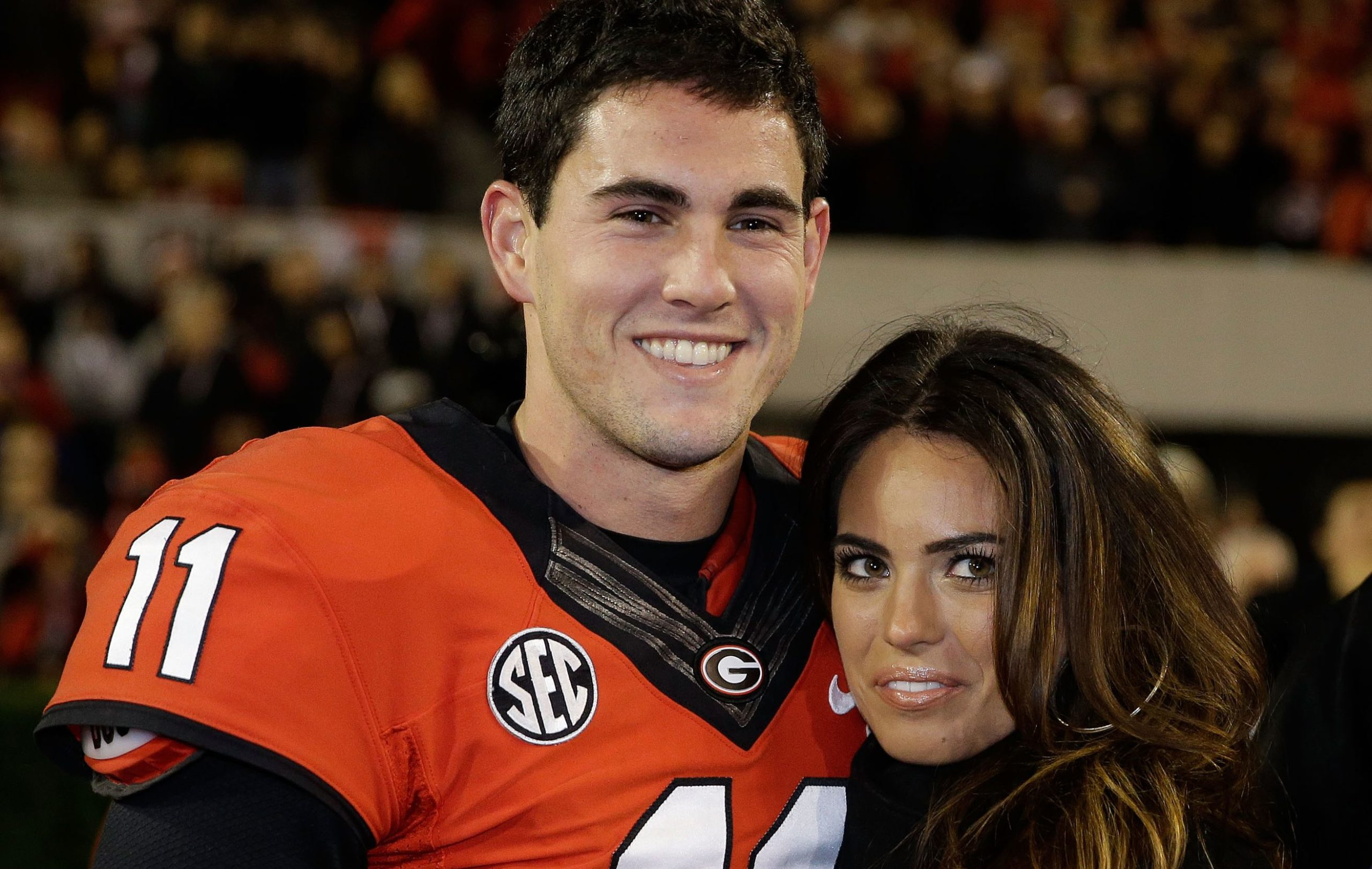 Kacie McDonnell and Aaron Murray
