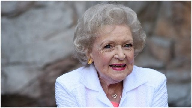 Betty White's age