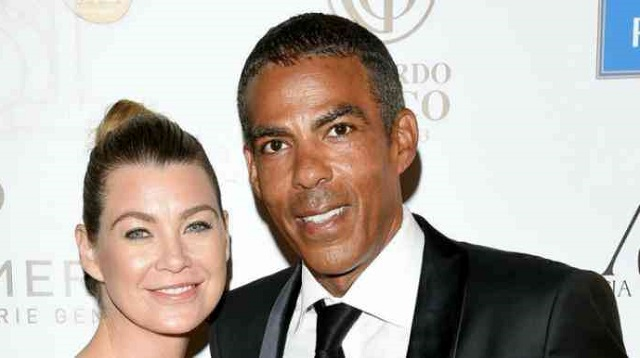 Chris Ivery and his wife Ellen Pompeo