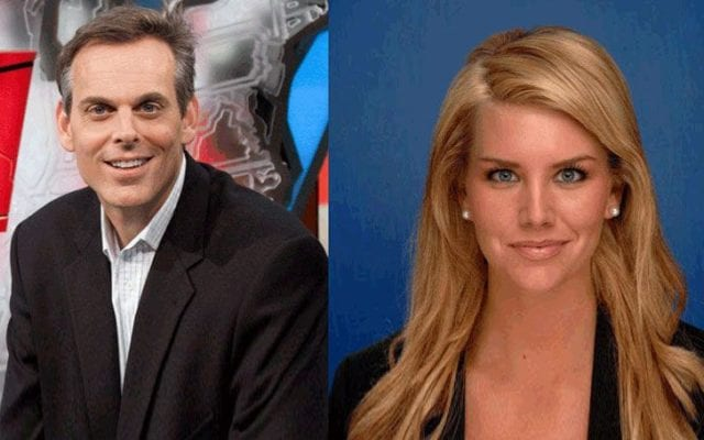 Colin Cowherd and Kimberly Ann Vadala