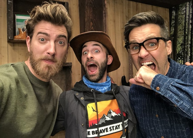 Coyote Peterson with RhettandLink