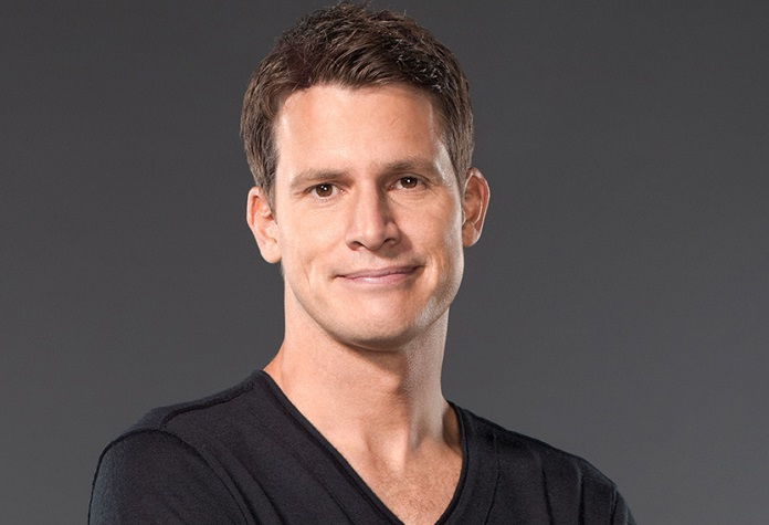 Daniel Tosh and Carly Hallam