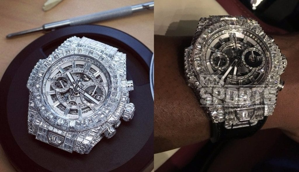 Floyd Mayweather's $1.1 Million Diamond Watch 2