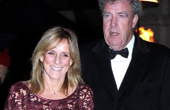 Frances Cain and Jeremy Clarkson