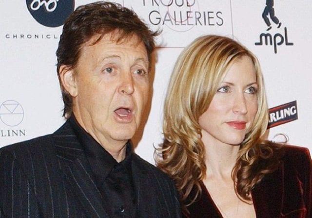Heather Mills and Paul McCartney Kerr