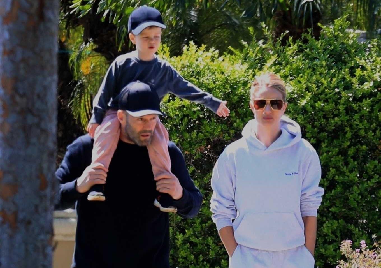 Jason Statham's family