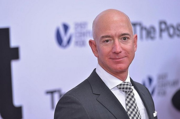 Richest people in the world - Jeff Bezos