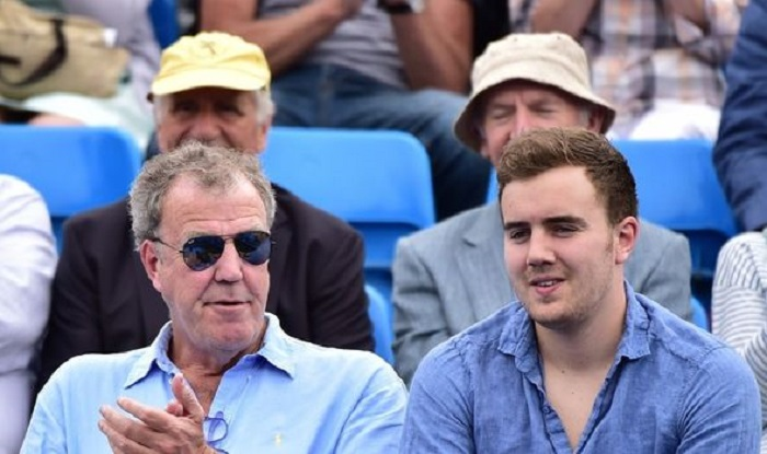 Jeremy Clarkson and son