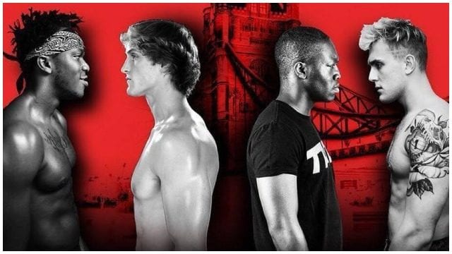 KSI vs Logan Paul vs Jake Paul vs Deji