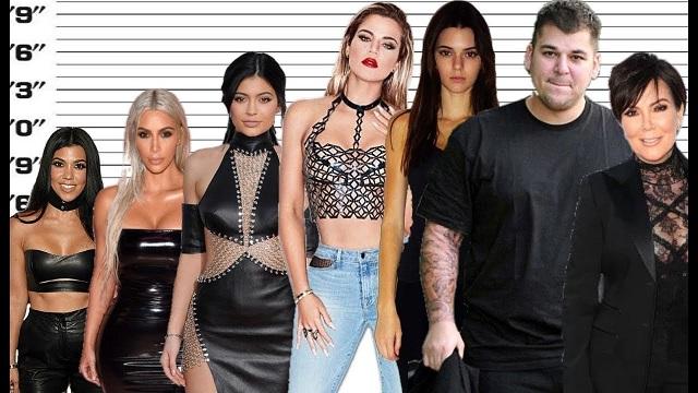 Kardashians and Jenners worth
