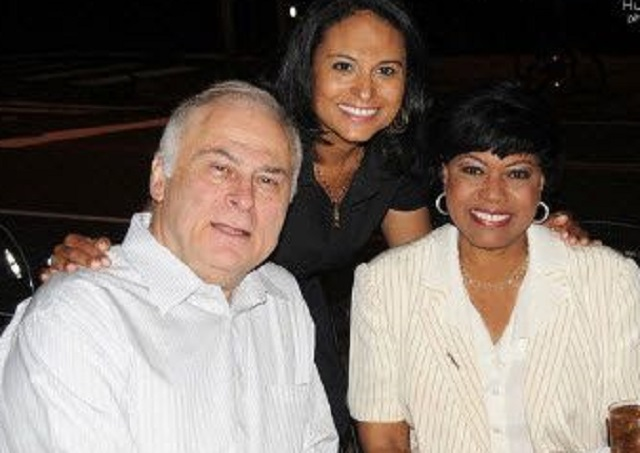 Kristen Welker and her parents
