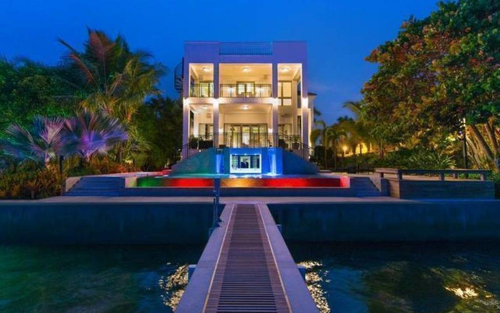 LeBron James Miami house