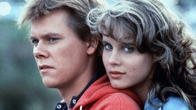 Lori Singer with Kevin Bacon in Footloose