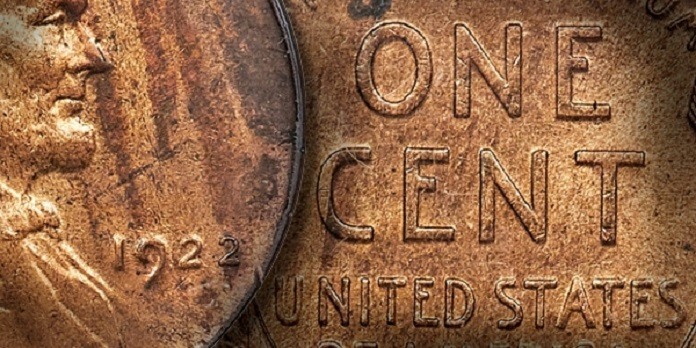 1922 D Lincoln No D Strong Reverse Die Pair 2