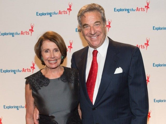 Nancy and Paul Pelosi