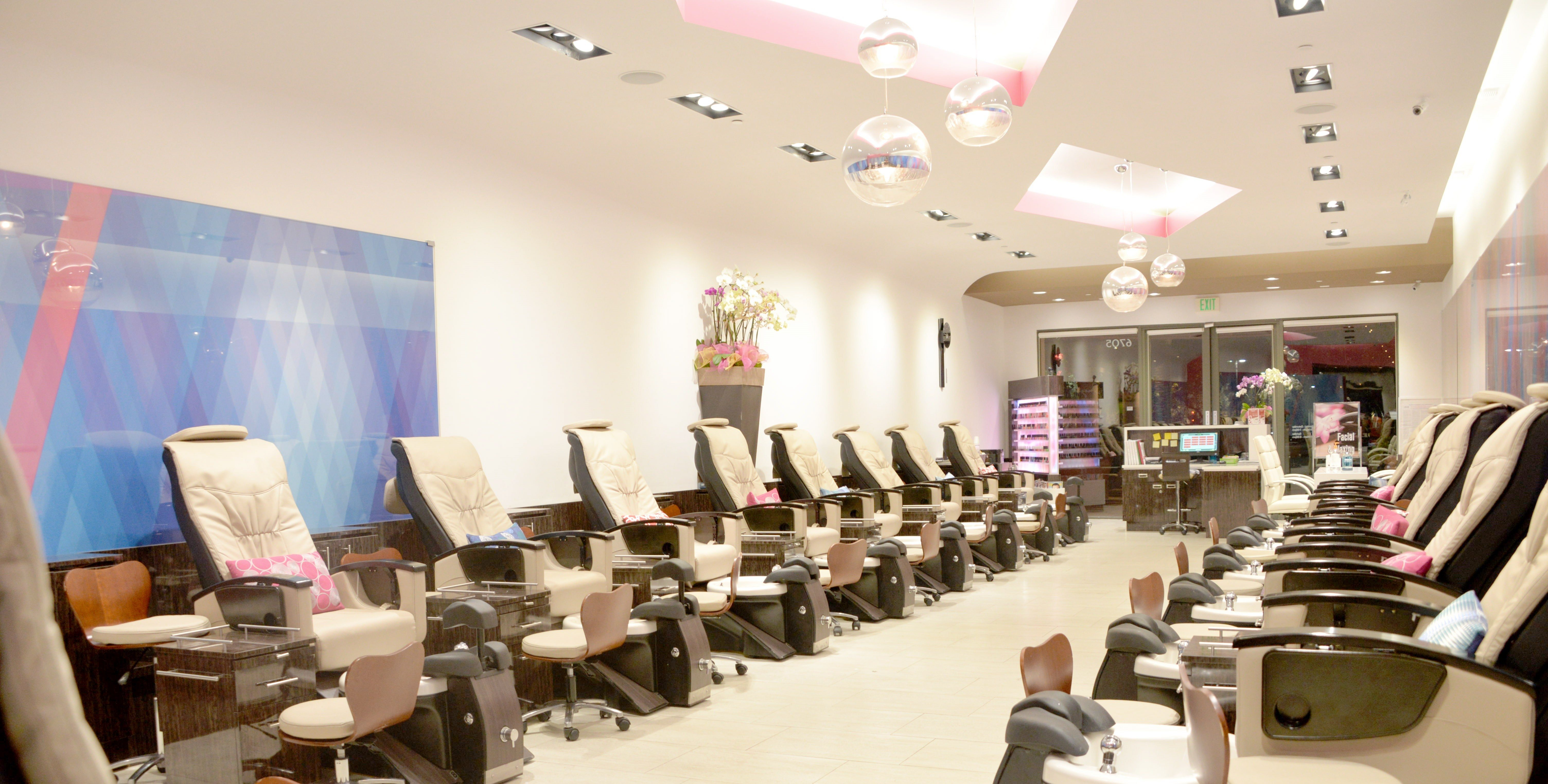 Most expensive manicure Saloon Image Nail Lounge