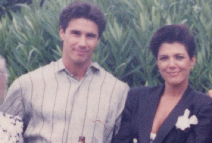 Todd Waterman and Kris Jenner