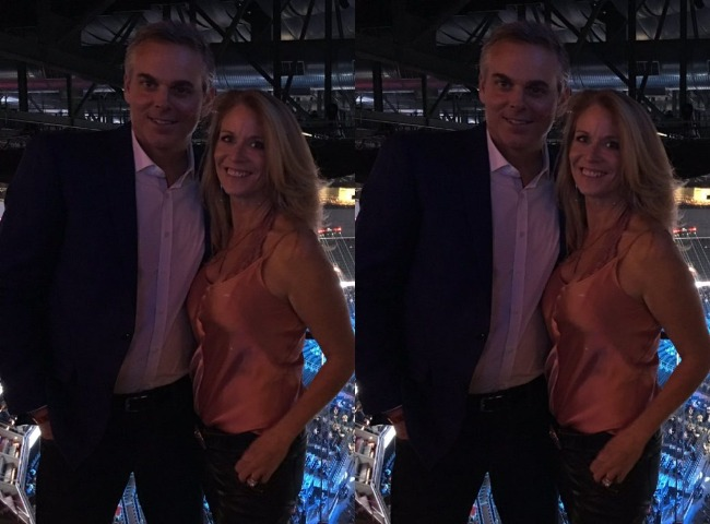 Colin Cowherd and his wife Ann Cowherd